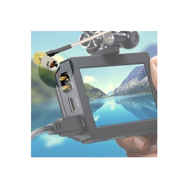 SDIケーブル ビデオ補助ケーブル Blackmagic用 Canon・Sony・Atomos Shogun・Odyssey7対応 BMCC/BMPCC対応 HDビデオカメラ用 DSL...