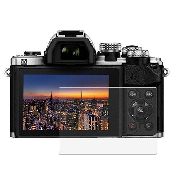 Olympus OM-D E-M10 Mark III ガラスフィルム OM-D E-M10 II E-M1 II E-M5 Mark II 強化ガラス 0.3mm超薄 カメラ 液晶保護フィル...