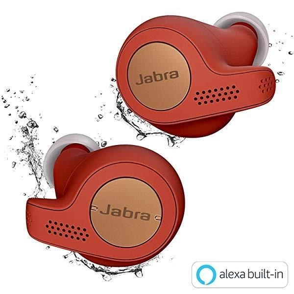 Elite Active 65t コッパーレッド 北欧デザイン Alexa対応完全ワイヤレスイヤホン BT5.0 マイク付 防塵防水IP56 2台同時接続|clorets