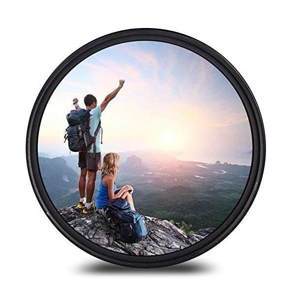 40.5mm レンズフィルター MC UV レンズ保護フィルター 多層加工 薄枠 撥水防汚紫外線吸収用 各メーカー対応 (40.5mm)