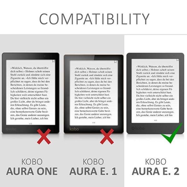 送料無料 Kobo Aura Edition 2 ケース 電子リーダーカバー PUレザー 電子書籍 保護ケース|clorets|06