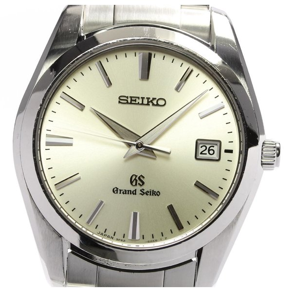 【SEIKO】セイコー グランドセイコー デイト SBGX063・9F62-0AB0 クォーツ メンズ