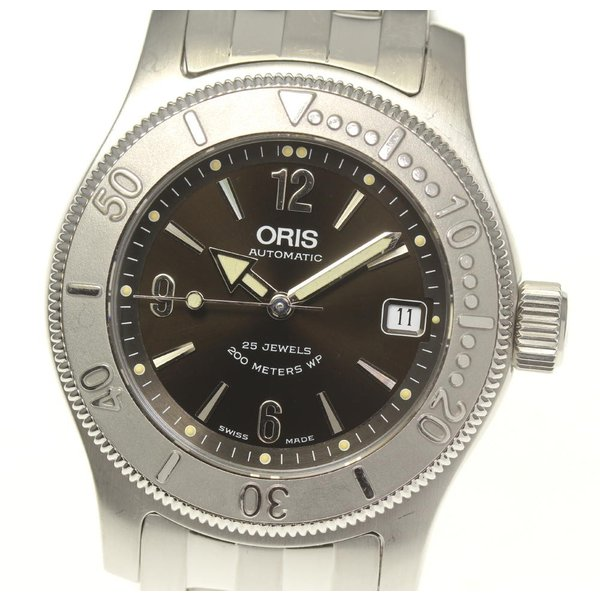 【ORIS】オリス ビッククラウン ダイバー 7502 自動巻き メンズ closer0510