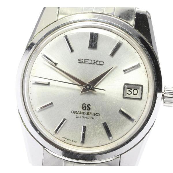 SEIKO セイコーグランドセイコーセカンド5722-9990Cal.5722B手巻きメンズ ev10