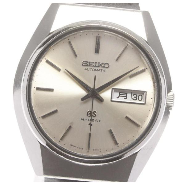 SEIKO セイコーグランドセイコーハイビート5646-8000Cal.5646Aデイデイト自動巻きメンズ