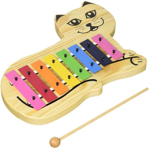 グロッケン SONOR ソナー オルフ 教育楽器 キャット グロッケンシュピール SN-KGC 箱傷み かわいい 鉄琴 キッズ用 幼児用 知育楽器