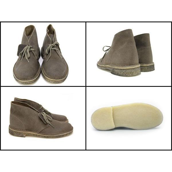 クラークス CLARKS 78354 DESERT BOOT TAUPE SUEDE メンズサイズ クラークス デザート ブーツ トープ スエード|cloudshoe|02