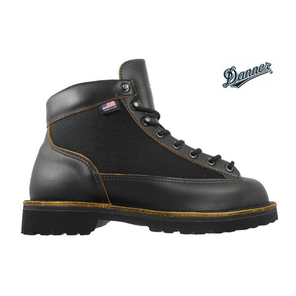 ダナー DANNER 30447 EEワイズ ライト ウッドローン ダークブラウン ゴアテックス ブーツ|cloudshoe