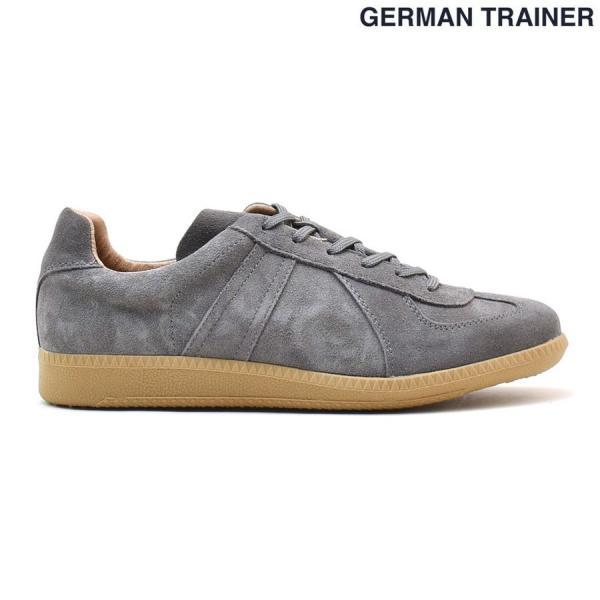 ポイント+15% ジャーマントレーナー GERMAN TRAINER 42006 GRAY グレー トレーニング カジュアル スニーカー メンズ|cloudshoe