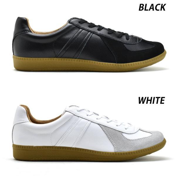 ポイント+10% ジャーマントレーナー GERMAN TRAINER 42500 ブラック ホワイト ローカット トレーニング カジュアル スニーカー メンズ レディース|cloudshoe|02