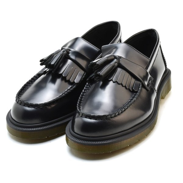 ドクターマーチン ローファー エイドリアン タッセル スリッポン ブラック 黒 メンズ レディース ADRIAN R24369001 BLACK POLISHED SMOOTH|cloudshoe|02