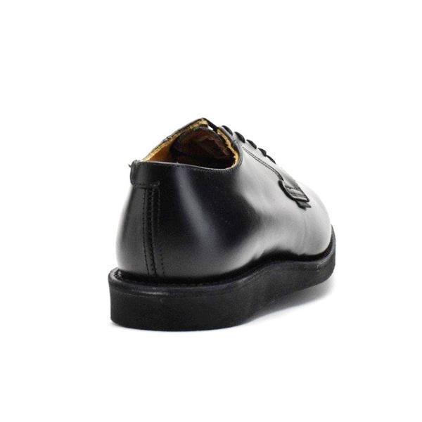 レッドウィング ポストマン オックスフォードREDWING 101 POSTMAN OXFORD BLACK CHAPARRAL ブラック シャパレル ドレス ワークブーツ|cloudshoe|03