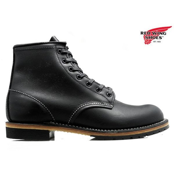 レッドウィング ベックマン REDWING 9014 BECKMAN BOOT 6 ROUND-TOE BLACK FEATHERSTONE 9014 ブーツ 6インチ ラウンド トゥ ブラック フェザーストーン|cloudshoe
