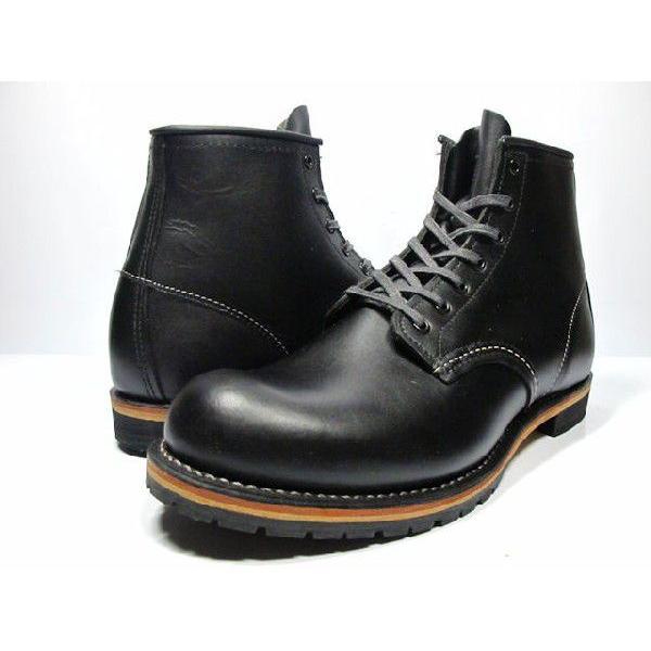 レッドウィング ベックマン REDWING 9014 BECKMAN BOOT 6 ROUND-TOE BLACK FEATHERSTONE 9014 ブーツ 6インチ ラウンド トゥ ブラック フェザーストーン|cloudshoe|03