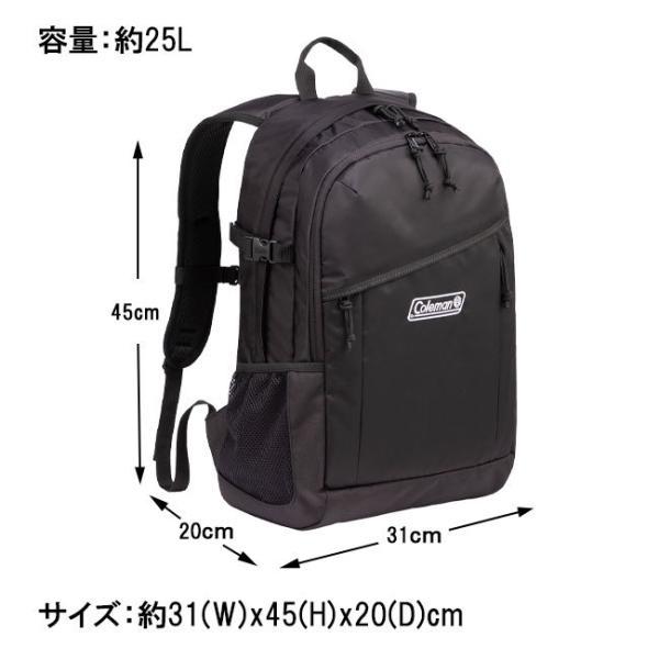 Coleman コールマン ウォーカー25 WALKER25 25L リュックサック 軽量 丈夫 通学 通勤 軽量 旅行 スポーツ アウトドア レビューを書いて送料無料|clover-bag|07
