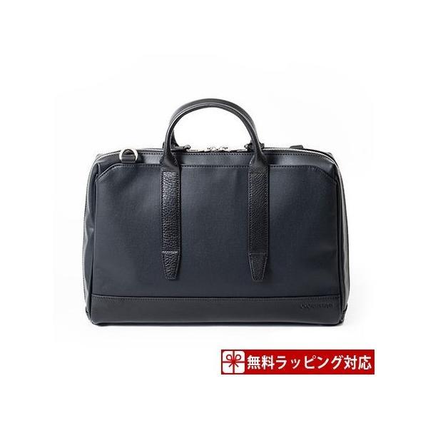 カルバンクライン バッグ メンズ ビジネスバッグ コーティッド A4 三方開き ブラック CalvinKlein