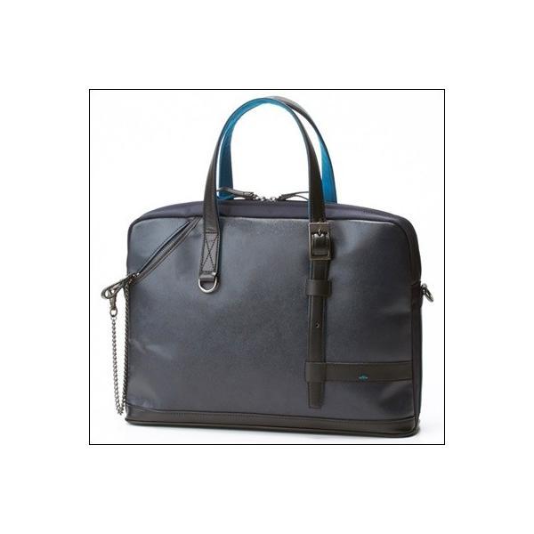 ランバンオンブルー パラドックス A4ビジネストート ビジネスバッグ ネイビー ラッピング無料