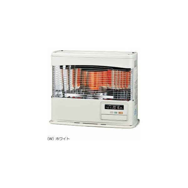 ###コロナ 暖房機器【FF-6818PR(W)】ホワイト FF式石油暖房機(輻射型) PRシリーズ 木造18畳 コンクリート24畳
