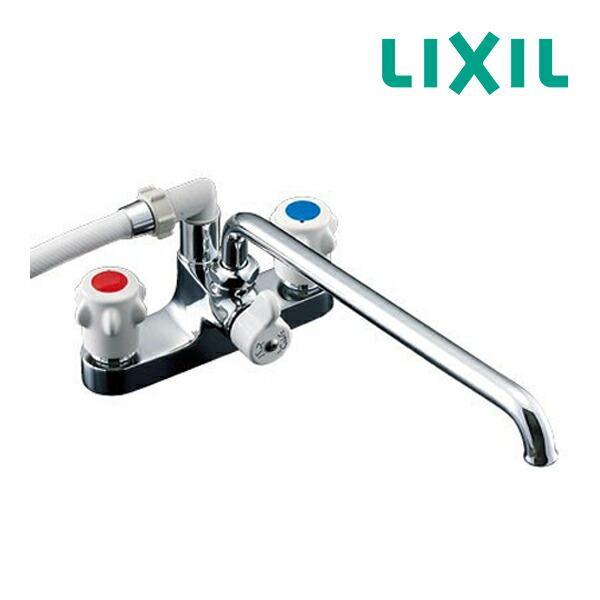 《あすつく》▽ 15時迄出荷OK INAX浴室用水栓金具 BF-M607-GA ミーティス2ハンドル混合栓ホールインワン浴槽用