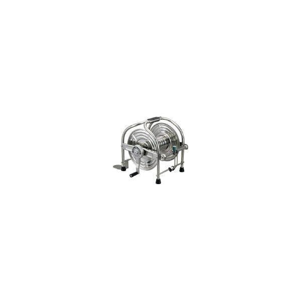 ■〒ハタヤリミテッド/ハタヤ ステンレス(SUS304)ホースリール 40m用本体のみ<br>【SLA-0】(1065203) 受注単位1