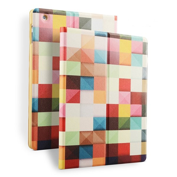 【送料無料】  iPad 2/3/4 iPad air/air2ケース 手帳型タイプカバー 高級シルク調レザー オートスリープ スタンド機能付き 可愛い おしゃれ|clovershop