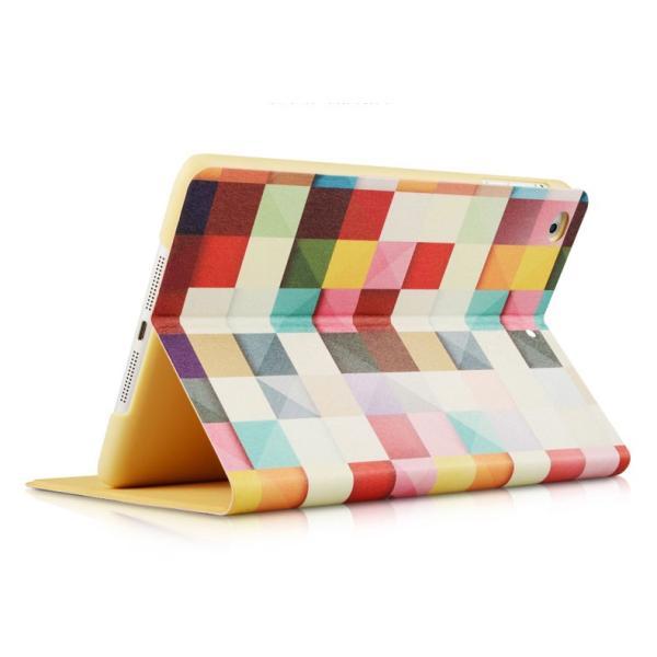 【送料無料】  iPad 2/3/4 iPad air/air2ケース 手帳型タイプカバー 高級シルク調レザー オートスリープ スタンド機能付き 可愛い おしゃれ|clovershop|02