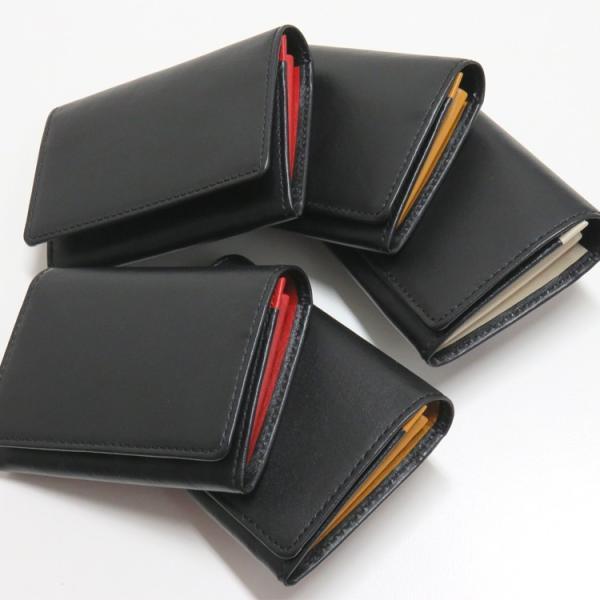 名刺入れ 名刺ケース ビジネス カードケース サブポケット 大容量 50枚収納 本革 革 レザー メンズ レディース CLuaR シールアル|cluar|03
