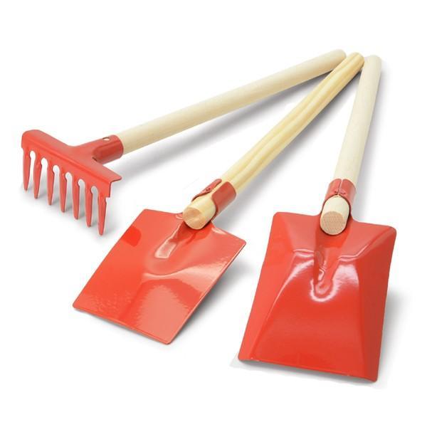 Redecker(レデッカー) ガーデニングセット 3点セット 子ども用ガーデニングツール シャベル/鍬/熊手