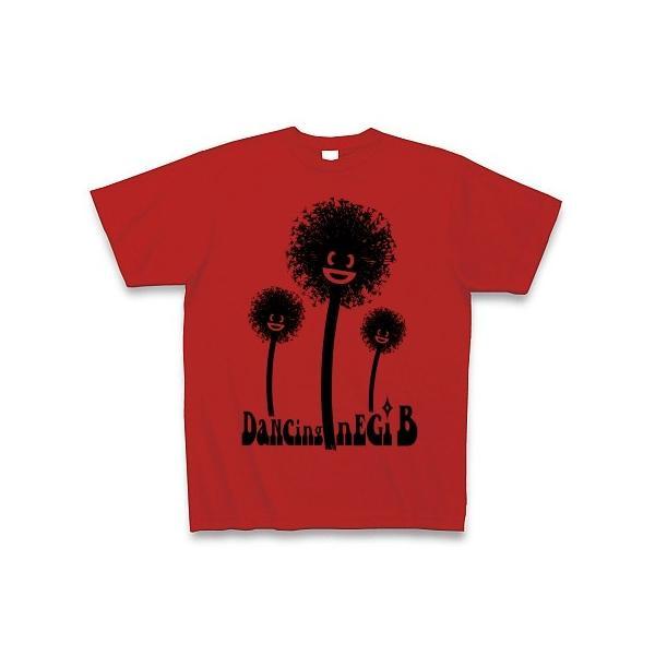 踊るねぎ坊主(MONO) Tシャツ(赤)