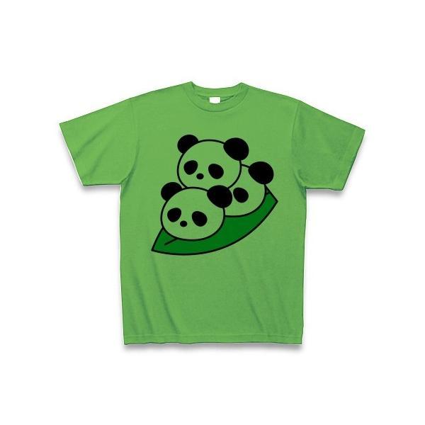 笹団子ぱんだ Tシャツ(ブライトグリーン)