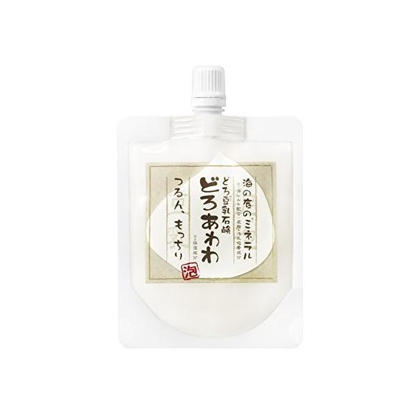 どろ豆乳石鹸どろあわわ 110g|cm-japan