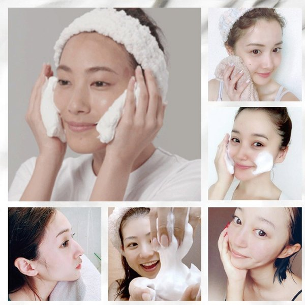 どろあわわ くろあわわ リニューアル版 洗顔 石鹸 泡立てネット付 お試し 2個 セット|cm-japan|08