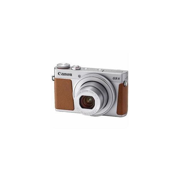 ☆Canon PSG9XMK2SL コンパクトデジタルカメラ PowerShot(パワーショット) G9 X Mark II(シルバー) PSG9XMARKII