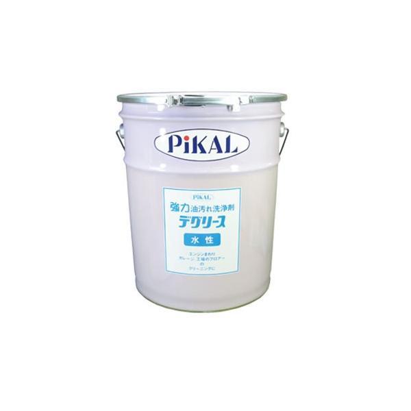 日本磨料工業 PIKAL(ピカール) 水性デグリ−ス(ペ−ル缶)20L 数量1 品番 64500