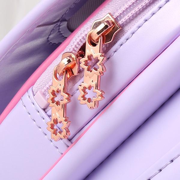 【Coulomb・カデンツァシリーズ】さくら モデル 2021年度 高級人気美しい ランドセル 女の子用/さくら刺繍/ツヤありパール生地/5色展開 cnofashop 08