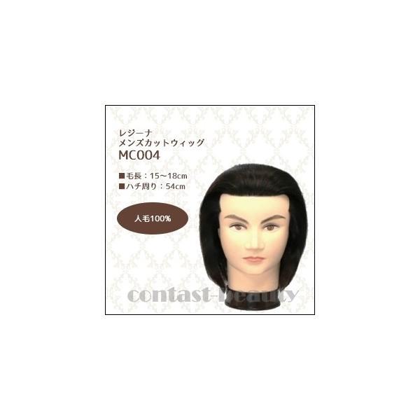 [x5個セット] 美容雑貨3 ヘア小物 レジーナ メンズカットウィッグ MC-004 人毛100%