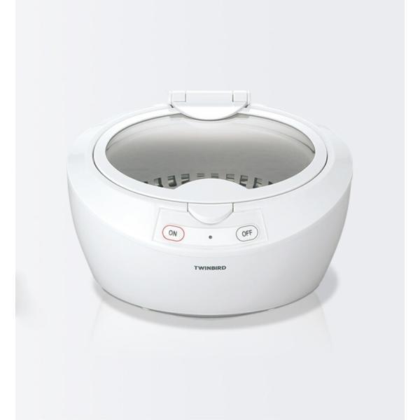 ツインバード 超音波洗浄器 EC4518W/EC-4518W ホワイト