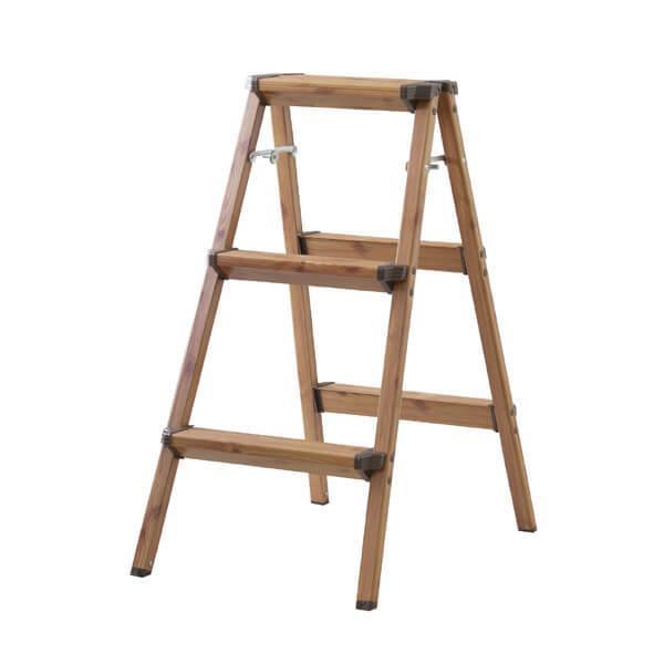【3段】ステップスツール【折りたたみ式】/ステップ 台 ステップチェア ステップチェアー 踏み台 椅子 イス いす チェア チェアー 折り畳み  おりたたみ 折り…