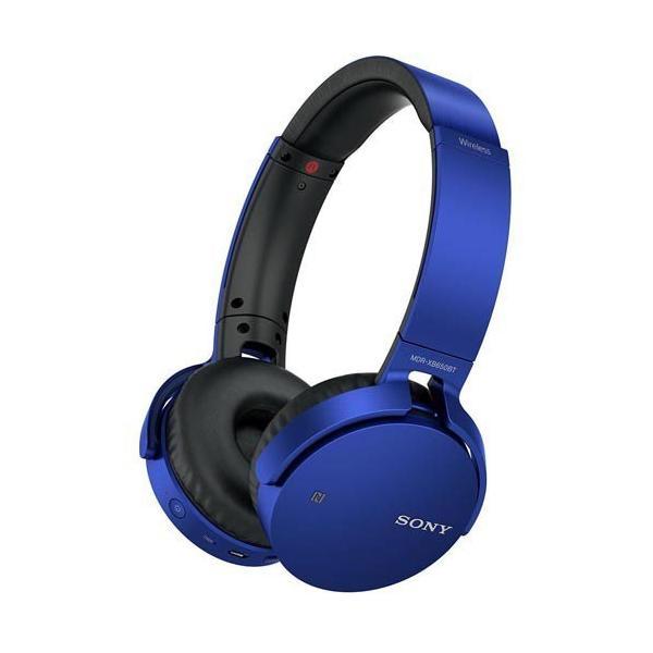 ソニー SONY ワイヤレスステレオヘッドセット MDR-XB650BT MDRXB650BT/AV機器 オーディオ ヘッドホン ブルー レッド ブラック|co-chi|03