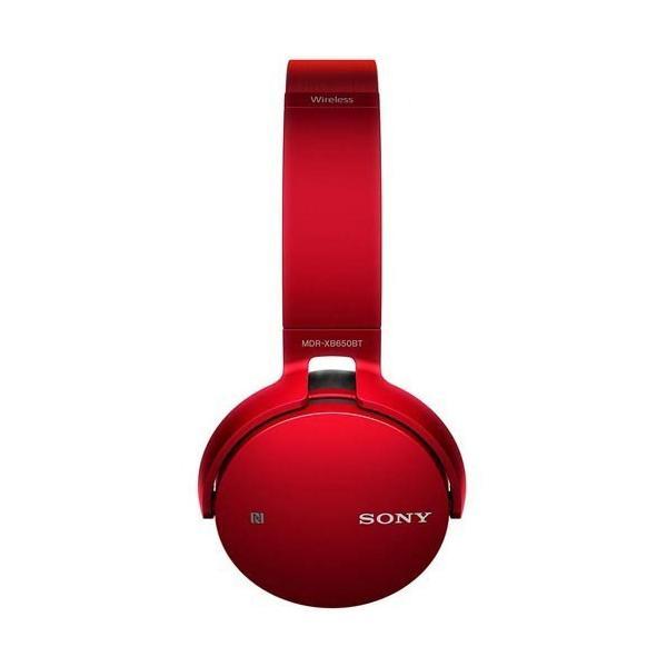ソニー SONY ワイヤレスステレオヘッドセット MDR-XB650BT MDRXB650BT/AV機器 オーディオ ヘッドホン ブルー レッド ブラック|co-chi|06