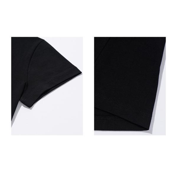 アニエスベー レディース Tシャツ 半袖 カットソー ロゴTシャツ コットン100% agnes b. ブラック ホワイト ネイビー 並行輸入品 ショッパー付き! cobalt-shop 11
