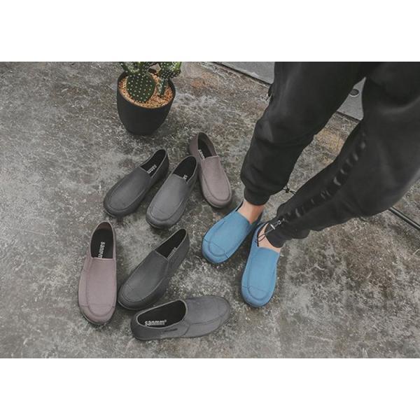 メンズ レインブーツ レインシューズ 雨靴 夏 梅雨対策 ラバーブーツ 晴雨兼用 ビジネス  シェフ靴 滑り止め 防水 コック 靴 作業靴 通勤 野外