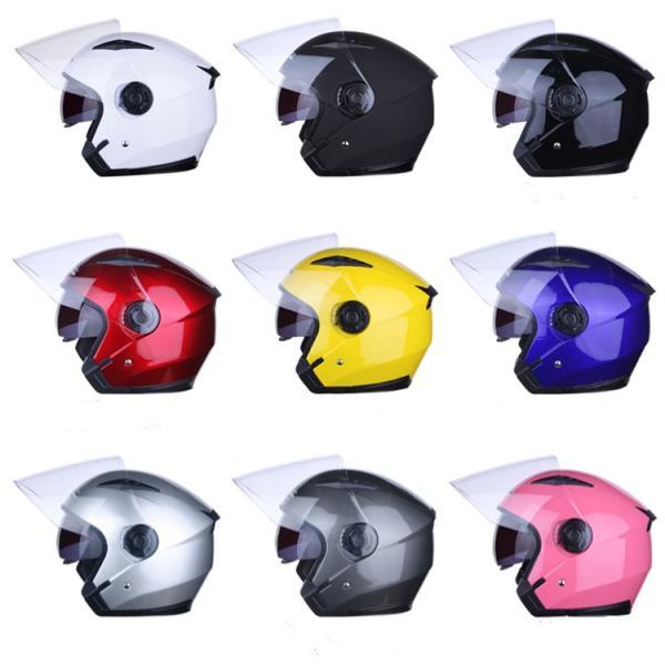 バイクヘルメット フルフェイス JIEKAI JK-512 Bike Helmet ジェットヘルメット 軽量 オフロード メンズ シールド付き|cobalt-shop
