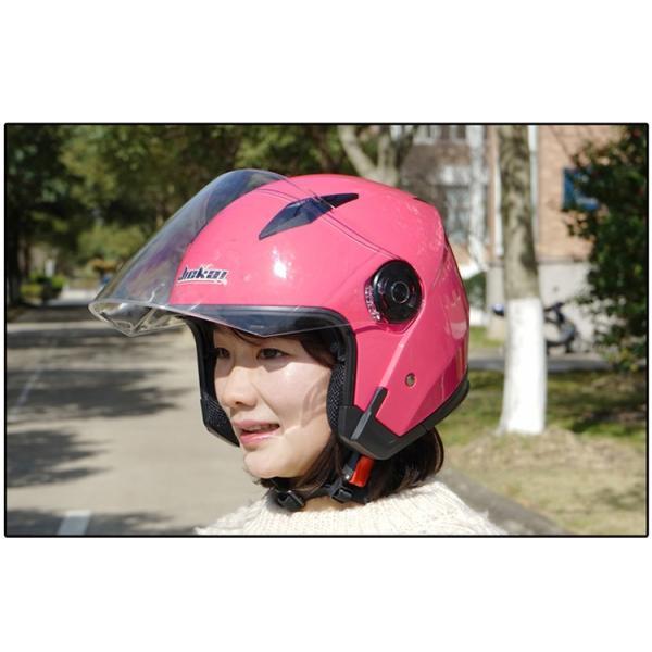 バイクヘルメット フルフェイス JIEKAI JK-512 Bike Helmet ジェットヘルメット 軽量 オフロード メンズ シールド付き|cobalt-shop|12