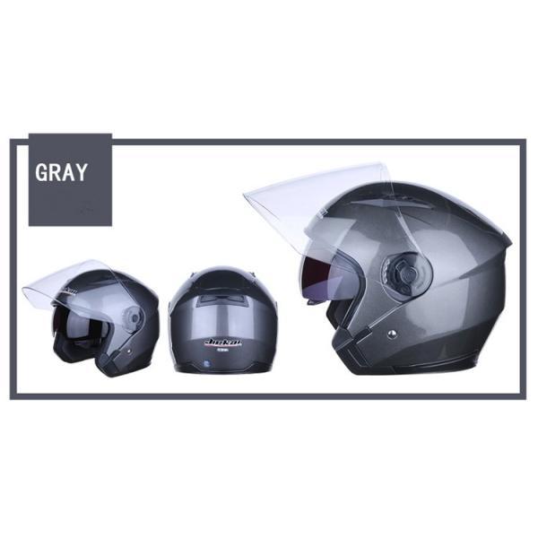 バイクヘルメット フルフェイス JIEKAI JK-512 Bike Helmet ジェットヘルメット 軽量 オフロード メンズ シールド付き|cobalt-shop|06