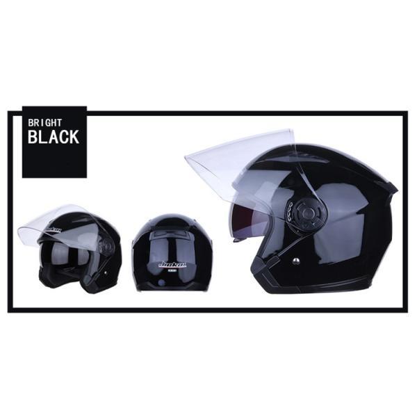 バイクヘルメット フルフェイス JIEKAI JK-512 Bike Helmet ジェットヘルメット 軽量 オフロード メンズ シールド付き|cobalt-shop|10