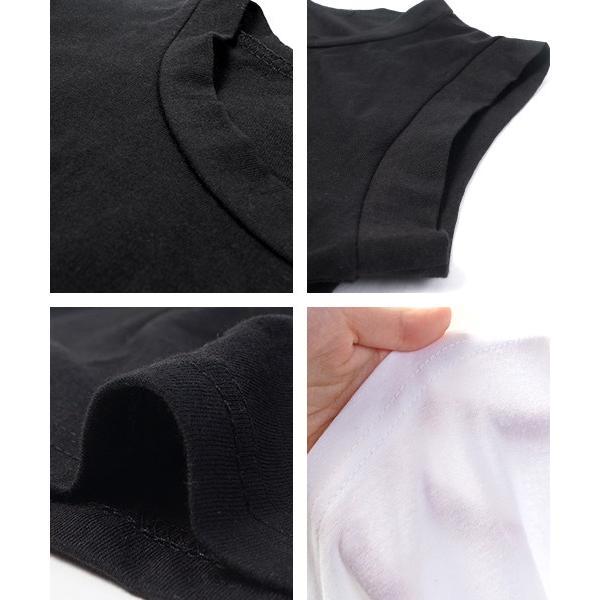 ノースリーブ タンクトップ カットソー Tシャツ 無地 綿100% コットン シンプル 16ss メール便可 akiico cocacoca 03
