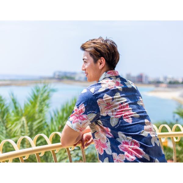 メンズ アロハシャツココナッツジュース シャツ  Painted Hibi 全3色  オープンカラーシャツ 半袖 3L4L5L 大きいサイズあり メール便利用で送料無料|coco-j|04