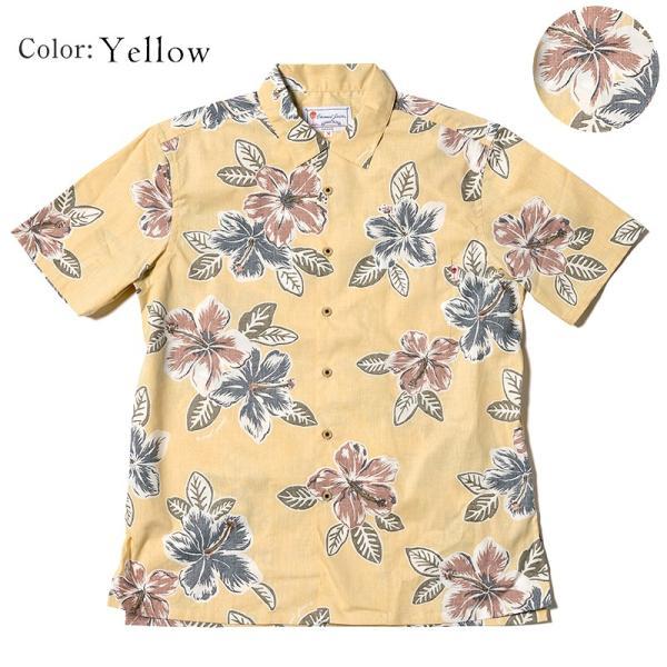 メンズ アロハシャツココナッツジュース シャツ  Painted Hibi 全3色  オープンカラーシャツ 半袖 3L4L5L 大きいサイズあり メール便利用で送料無料|coco-j|08