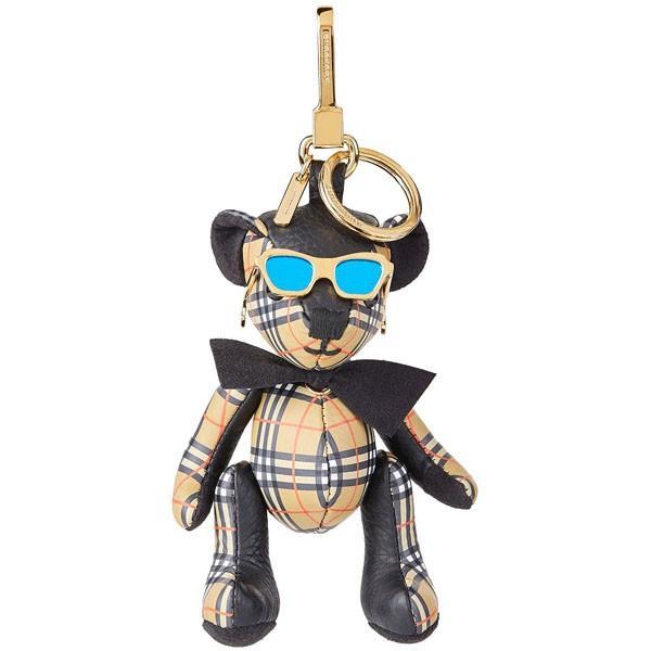 バーバリー ロンドン キーホルダー バッグチャーム キーリング レディース Burberry 熊 クマ